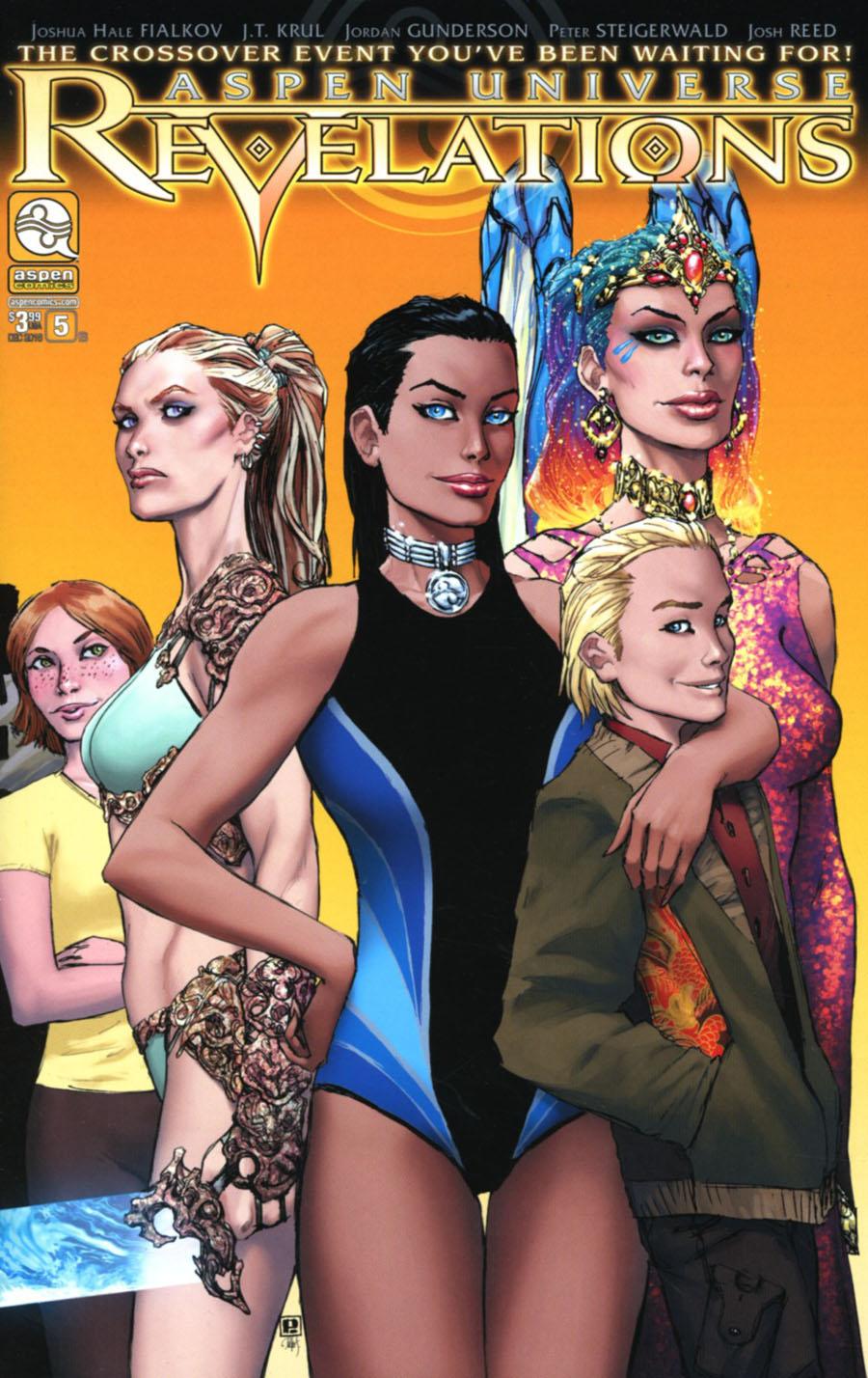 Aspen Universe Revelations #5 Cover B Variant Peter Steigerwald Cover
