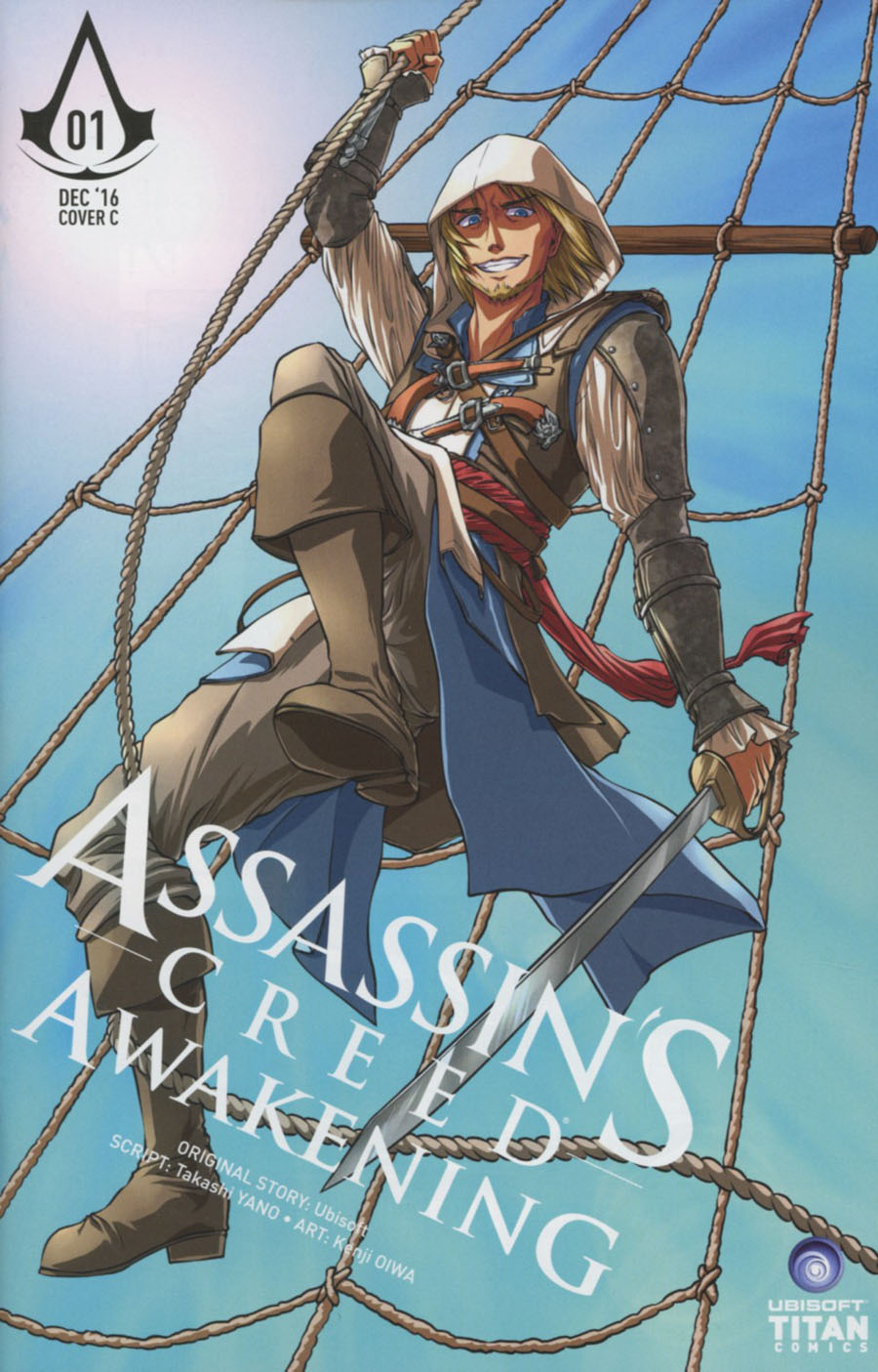 Assassins Creed Awakening #1 Cover C Variant Sonia Leong Cover