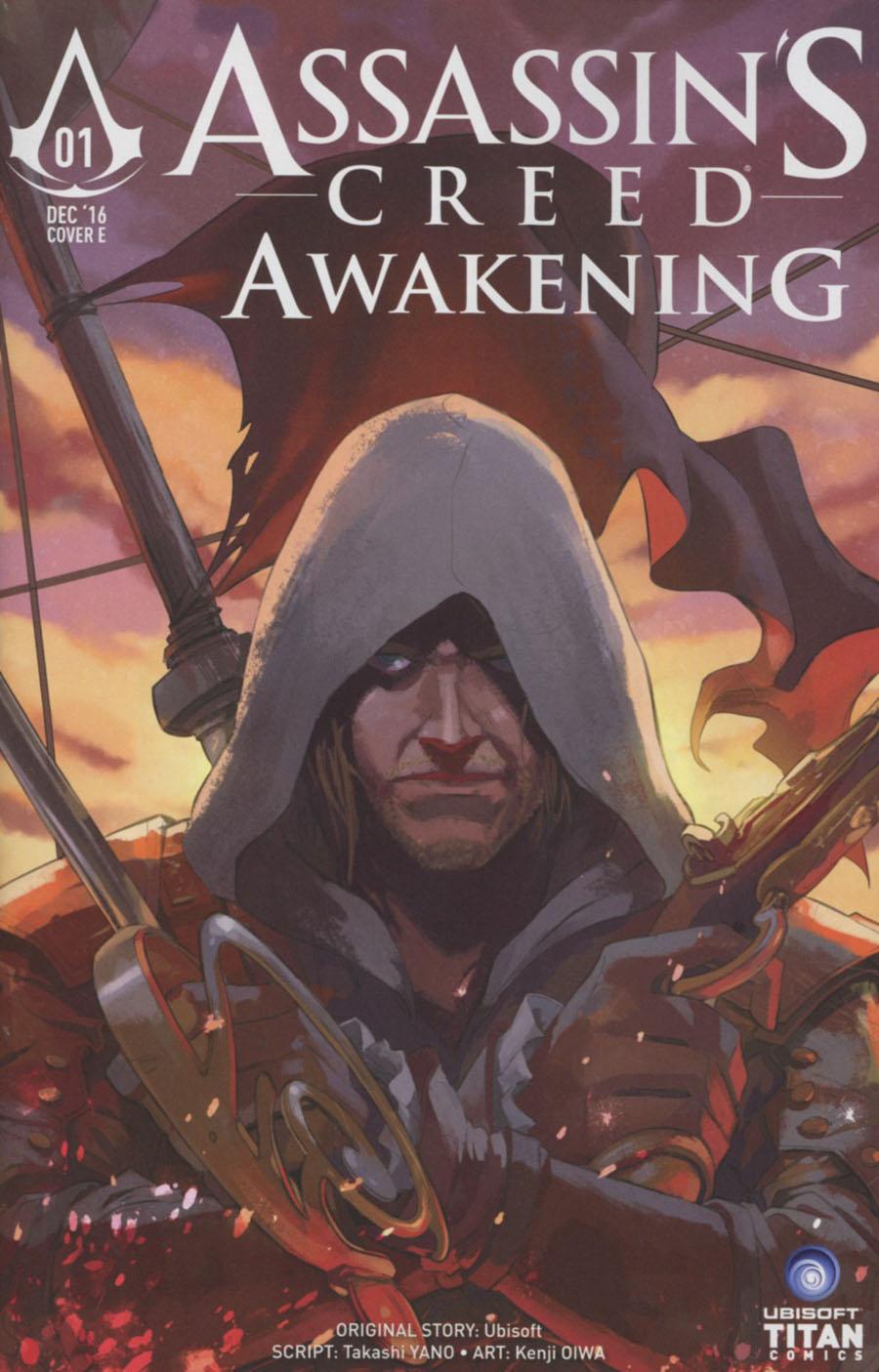 Assassins Creed Awakening #1 Cover E Variant Nana Lee & John Aggs Cover