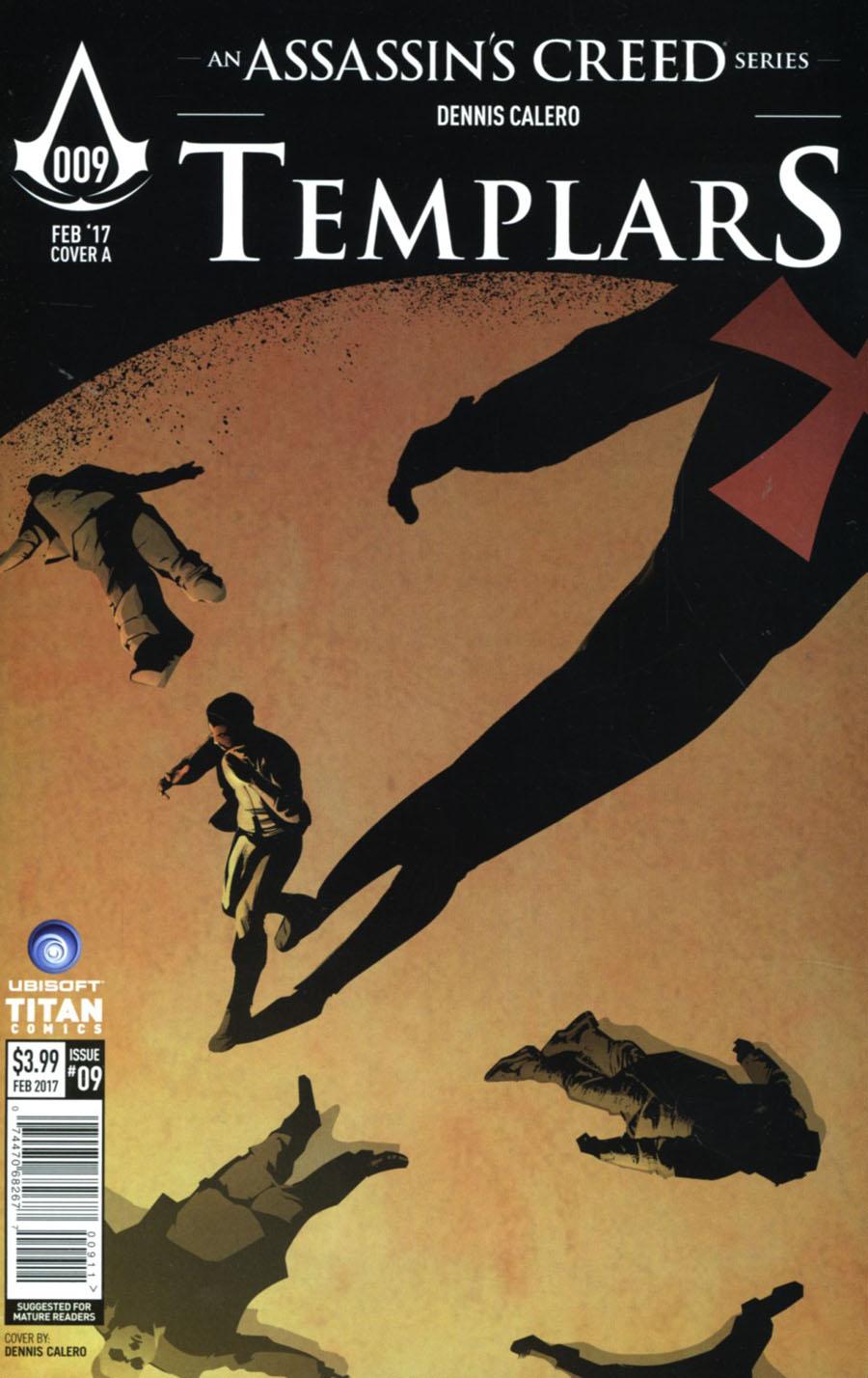 Assassins Creed Templars #9 Cover A Regular Dennis Calero Cover