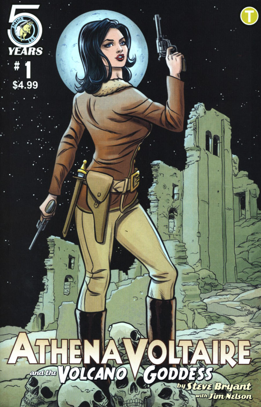 Athena Voltaire And The Volcano Goddess #1 Cover B Variant Mike Allred Cover