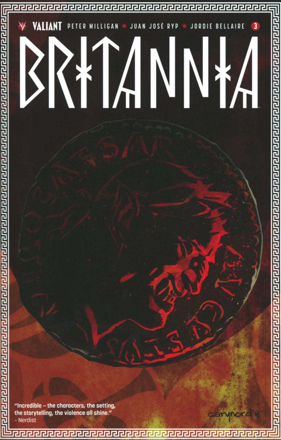 Britannia #3 Cover A 1st Ptg Regular Cary Nord Cover