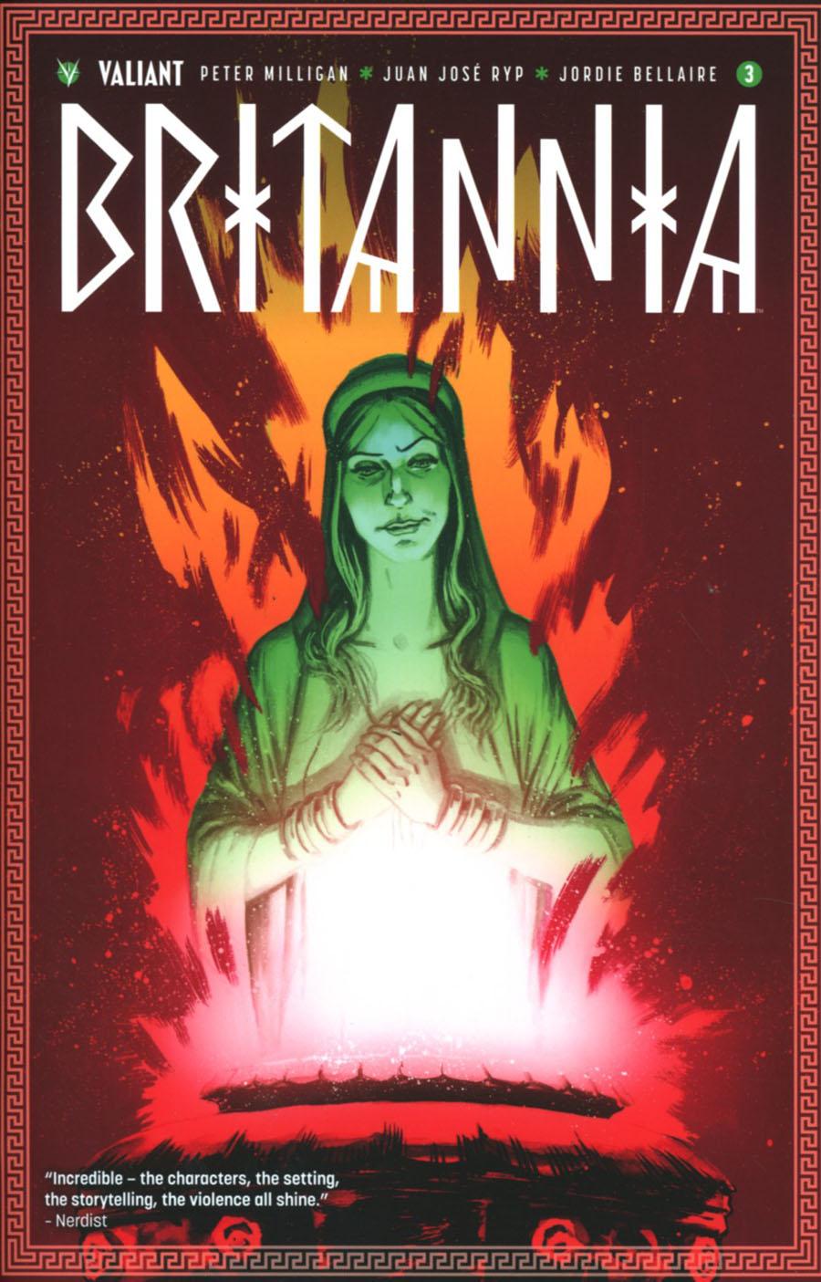 Britannia #3 Cover B Variant Adam Gorham Cover