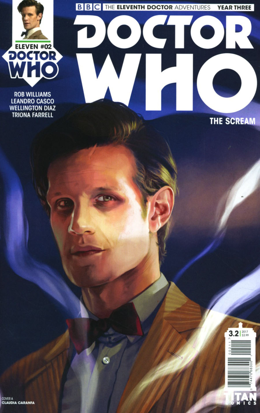 Doctor Who 11th Doctor Year Three #2 Cover A Regular Claudia Caranfa Cover