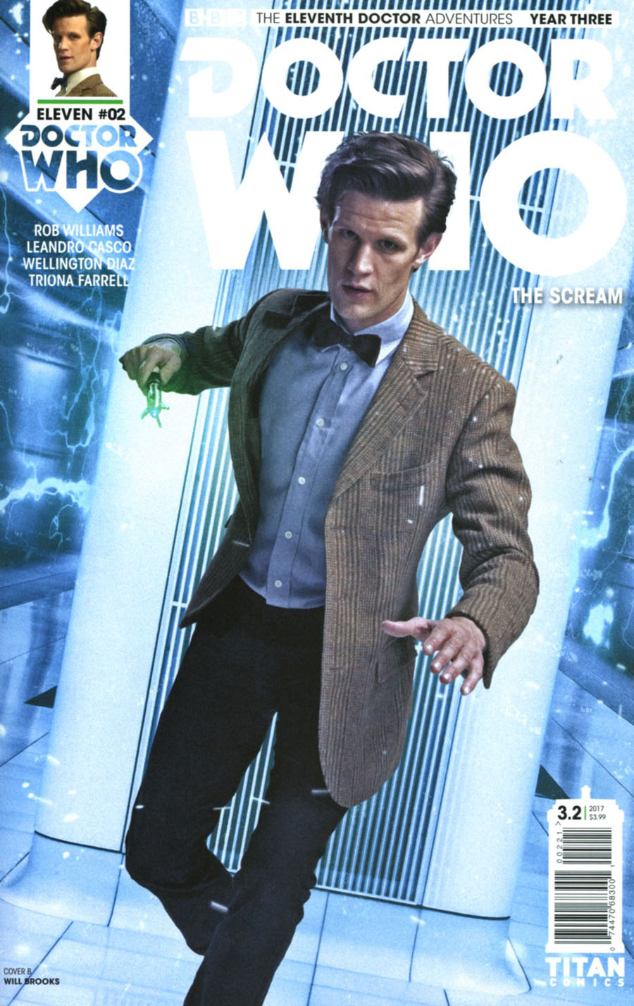 Doctor Who 11th Doctor Year Three #2 Cover B Variant Photo Cover