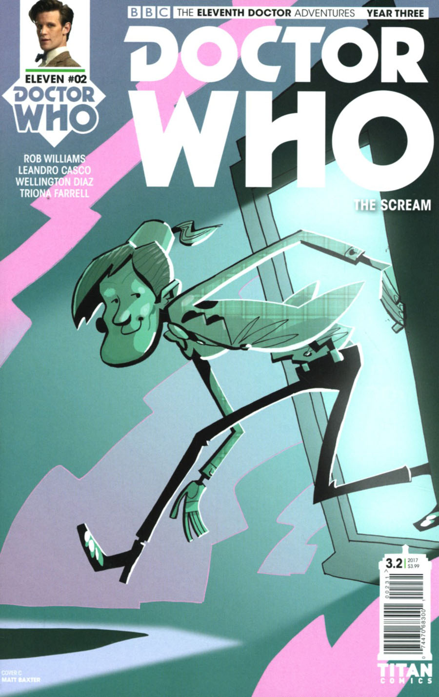 Doctor Who 11th Doctor Year Three #2 Cover C Variant Matt Baxter Cover
