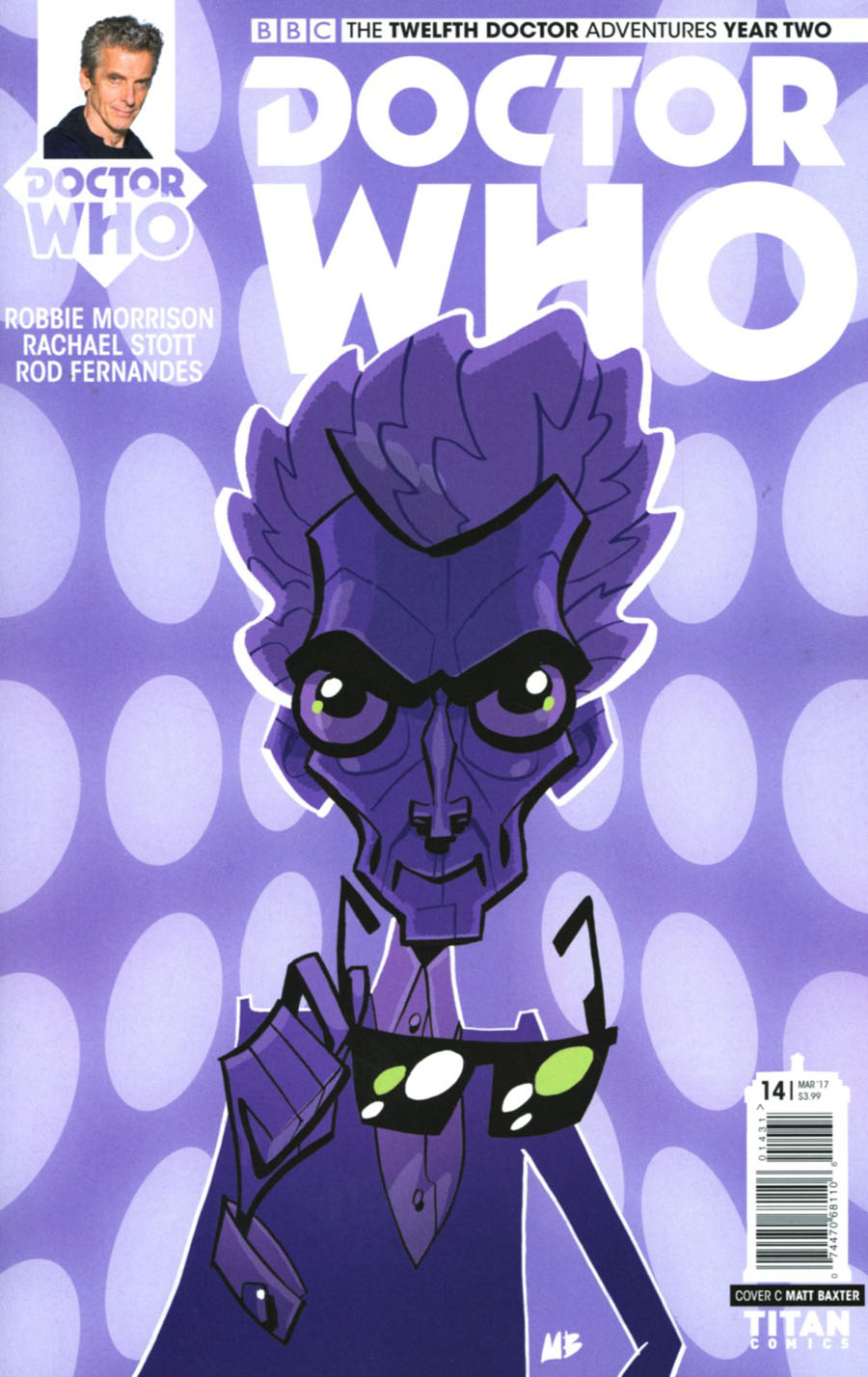 Doctor Who 12th Doctor Year Two #14 Cover C Variant Matt Baxter Cover