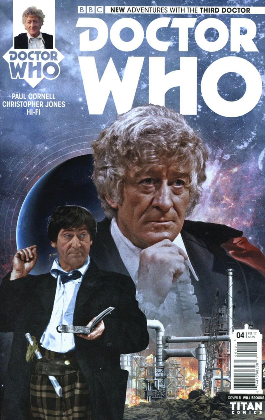 Doctor Who 3rd Doctor #4 Cover B Variant Photo Cover