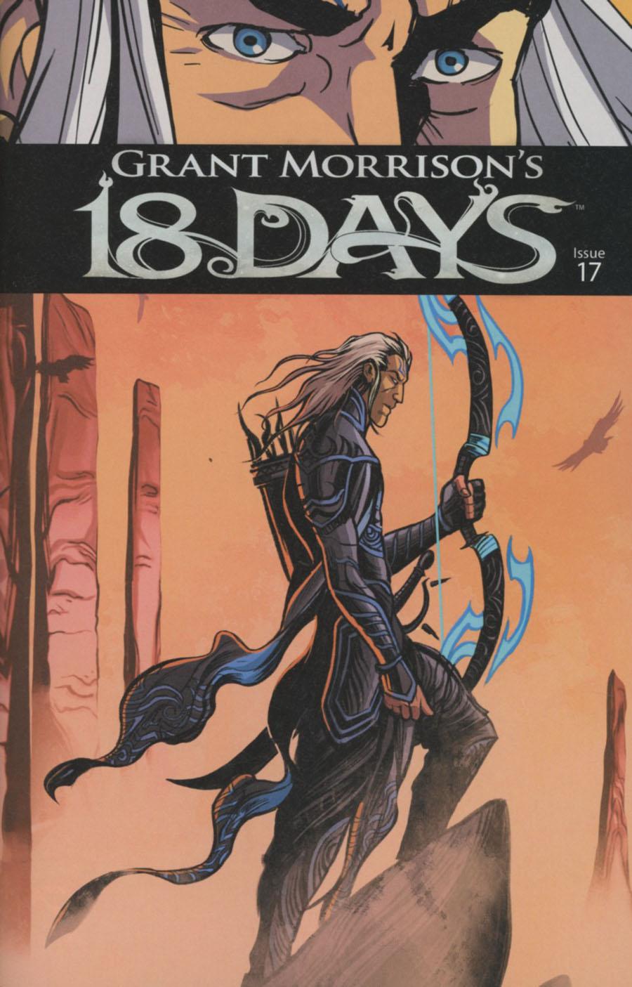 Grant Morrisons 18 Days #17 Cover A Regular Jeevan Kang Cover
