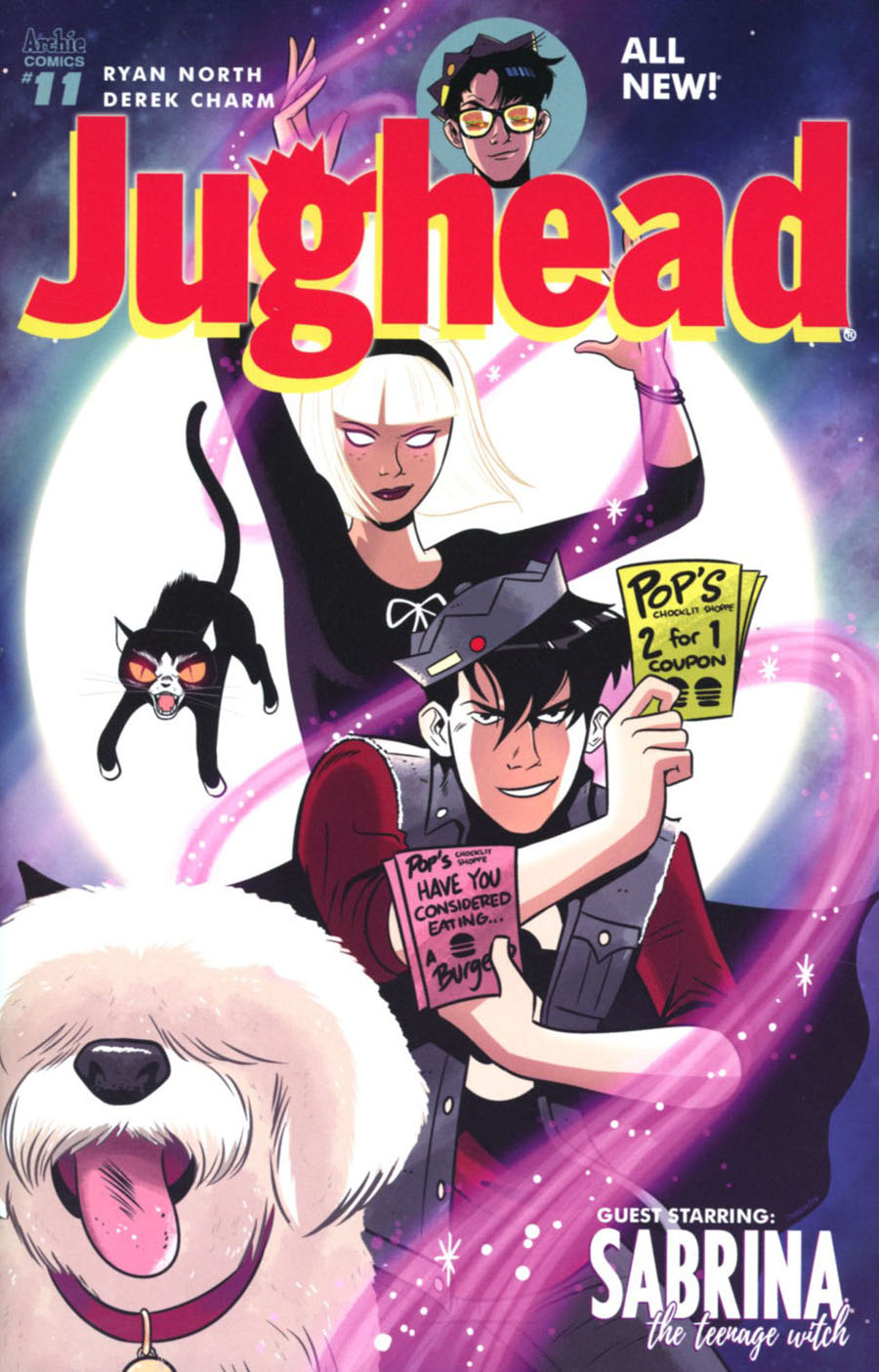 Jughead Vol 3 #11 Cover A Regular Derek Charm Cover