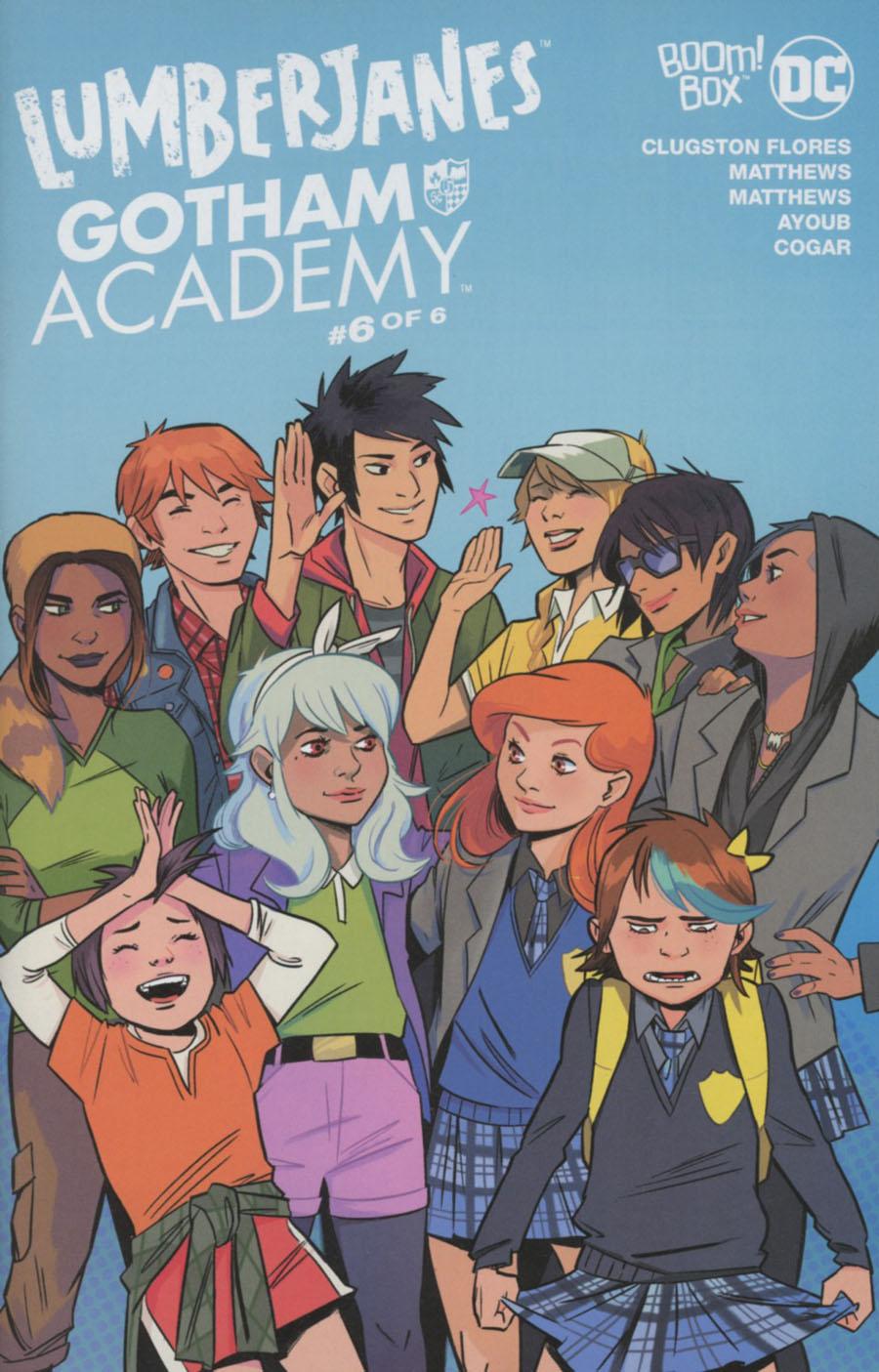 Lumberjanes Gotham Academy #6 Cover A Regular Natacha Bustos Cover