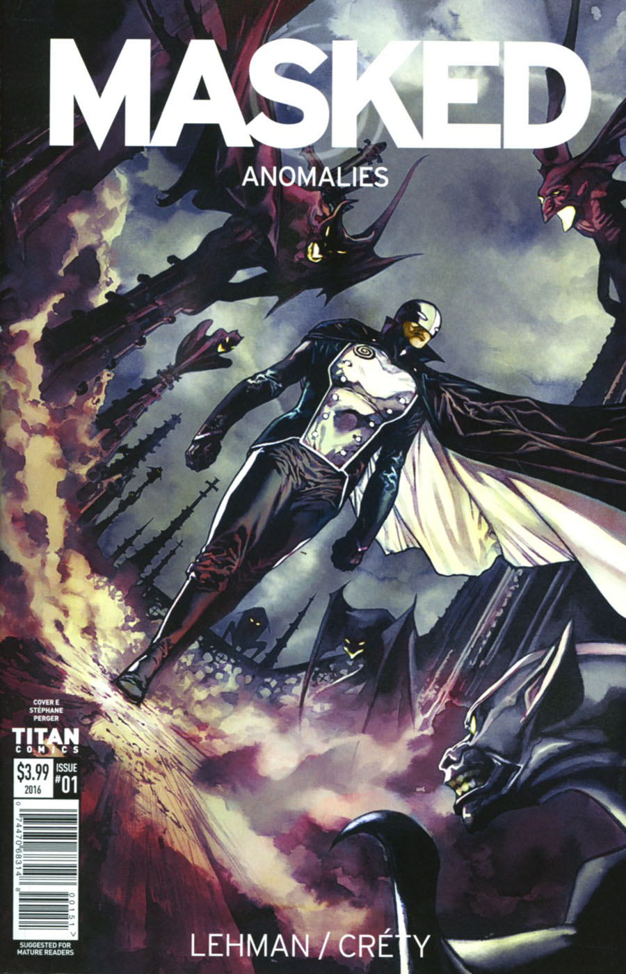 Masked #1 Cover E Variant Stephan Perger Cover