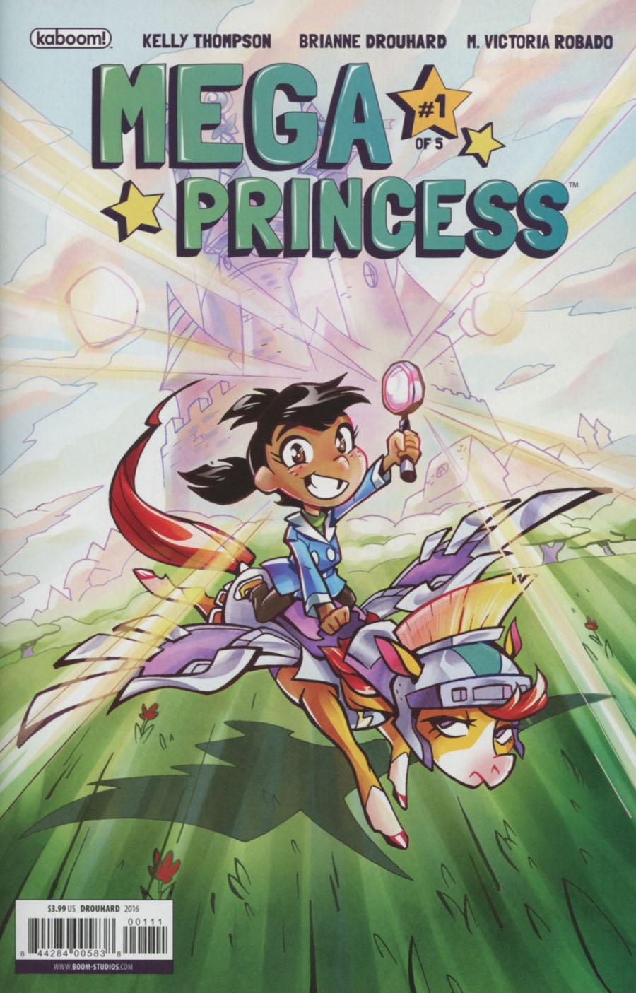Mega Princess #1 Cover A Regular Brianne Drouhard Cover