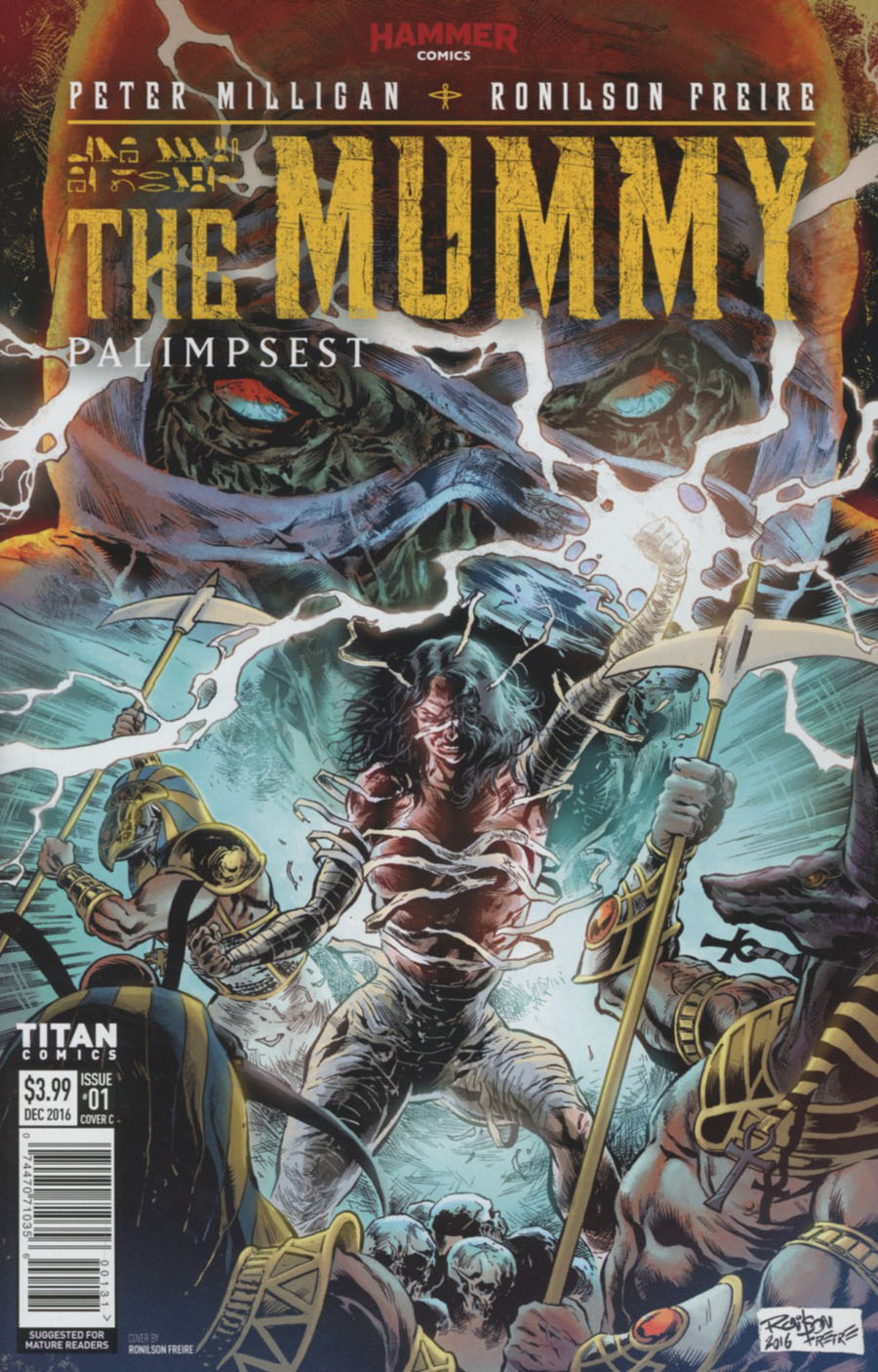 Mummy #1 Cover C Variant Ronilson Freire Cover