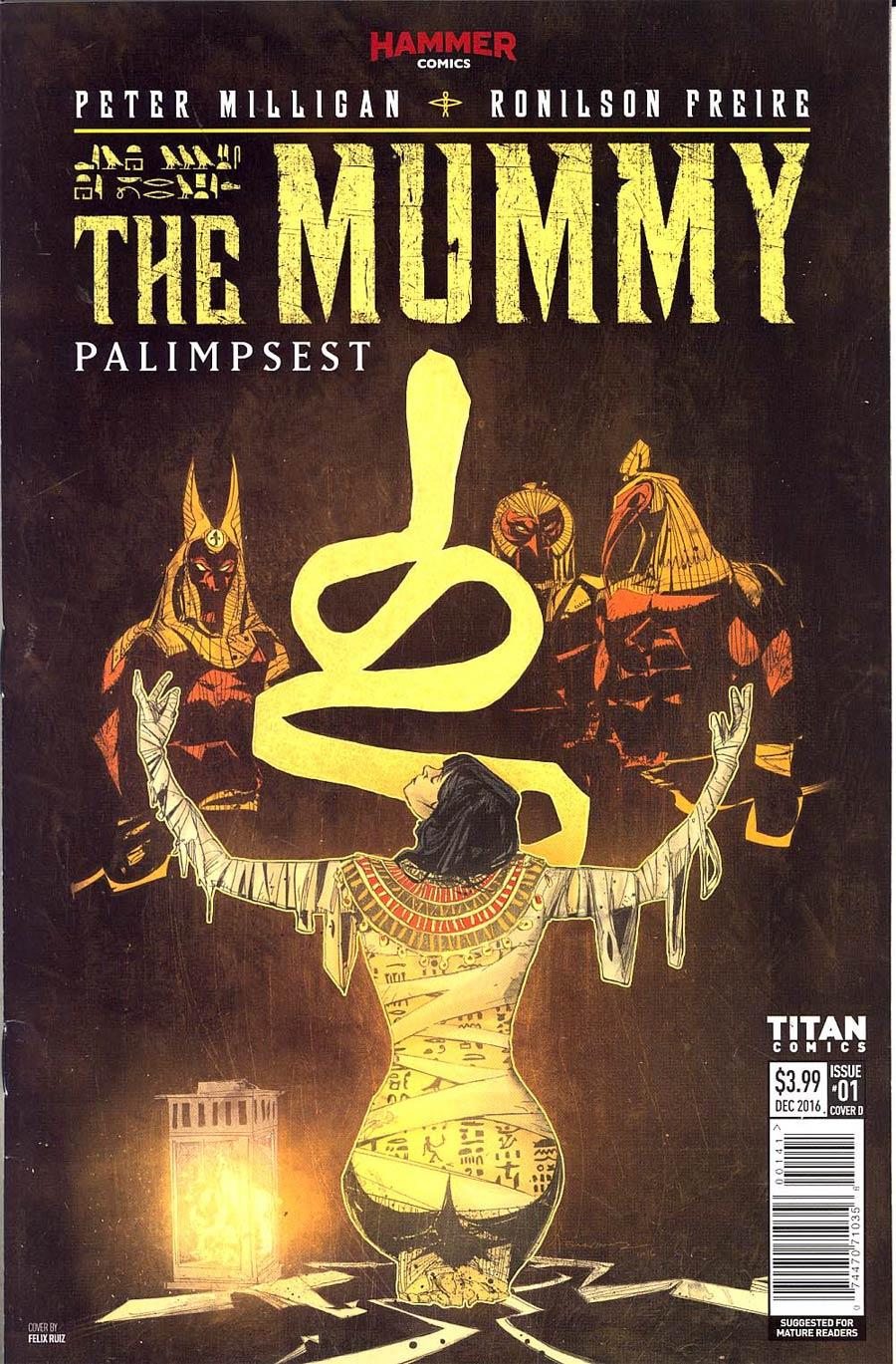 Mummy #1 Cover D Variant Felix Ruiz Cover