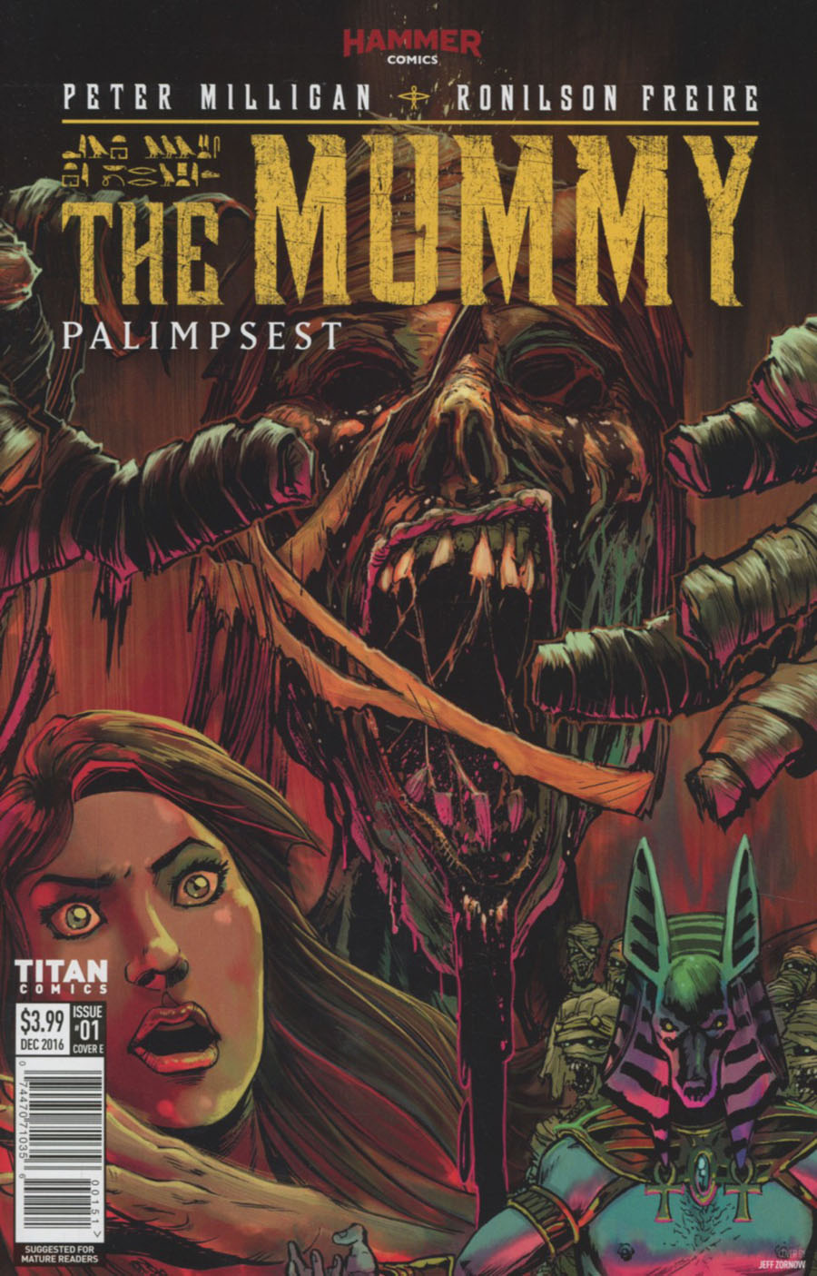 Mummy #1 Cover E Variant Jeff Zornow Cover