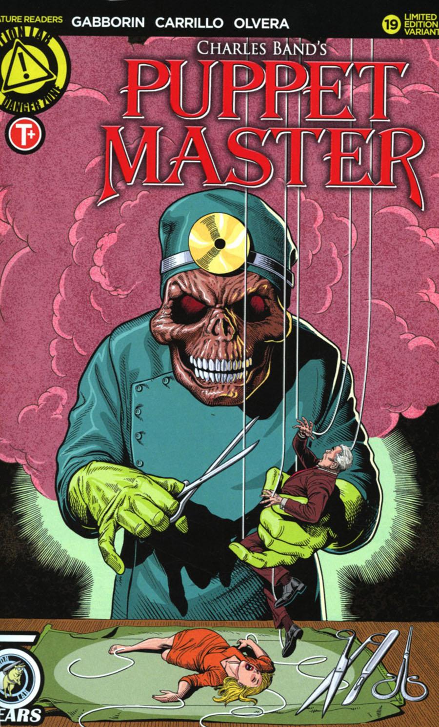 Puppet Master #19 Cover C Variant Glenn Lumsden Cover