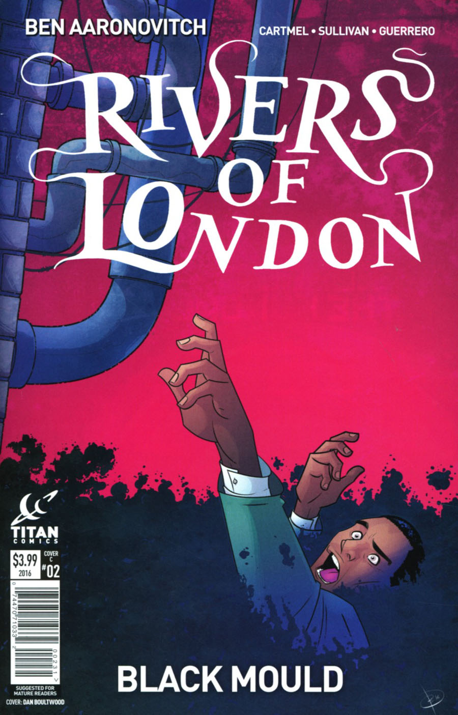 Rivers Of London Black Mould #2 Cover C Variant Dan Boultwood Cover