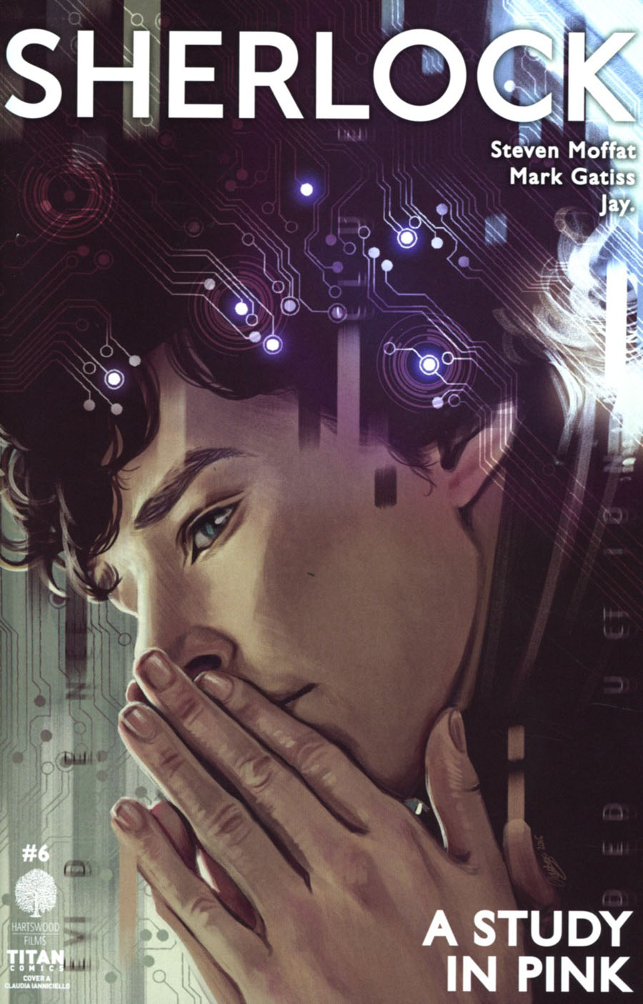 Sherlock A Study In Pink #6 Cover A Regular Claudia Ianniciello Cover