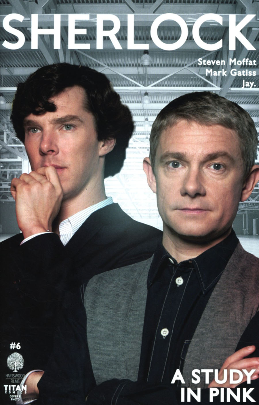 Sherlock A Study In Pink #6 Cover B Variant Photo Cover