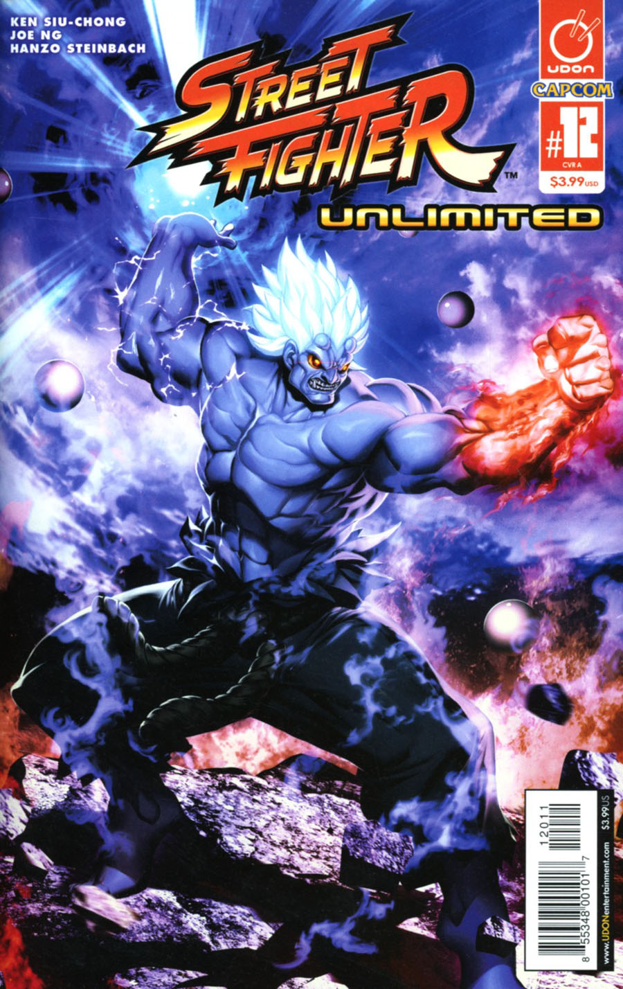 Street Fighter Unlimited #12 Cover A Regular Genzoman Story Cover