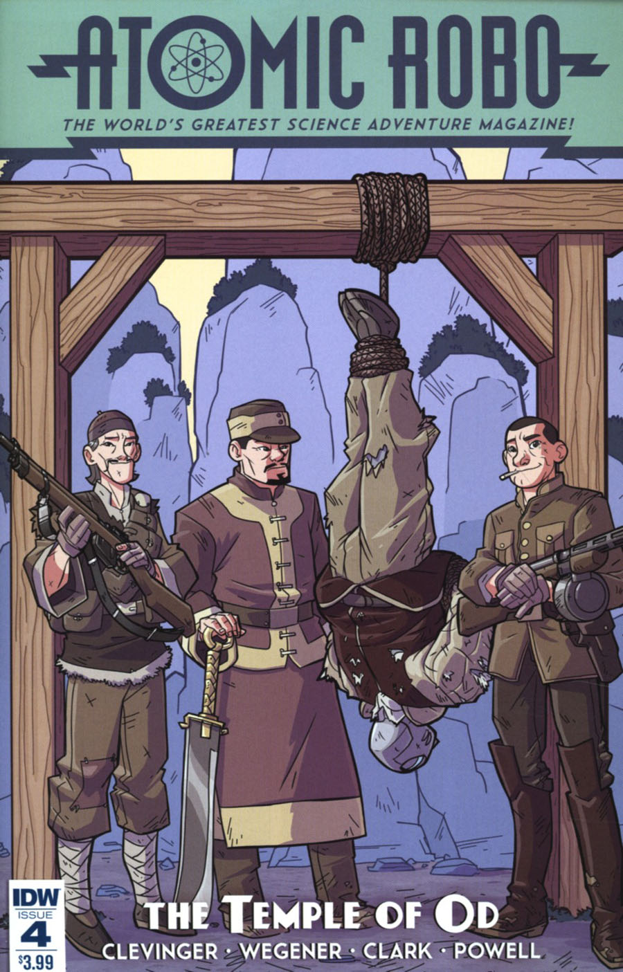 Atomic Robo And The Temple Of Od #4 Cover A Regular Scott Wegener Cover