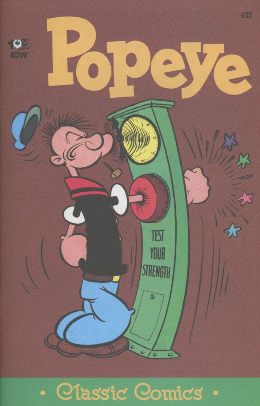 Classic Popeye #52 Cover A Regular Bud Sagendorf Cover
