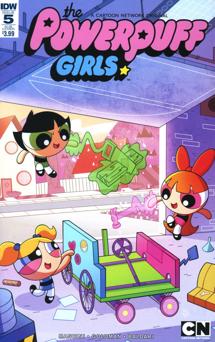 Powerpuff Girls Vol 3 #5 Cover B Variant Phil Murphy Subscription Cover