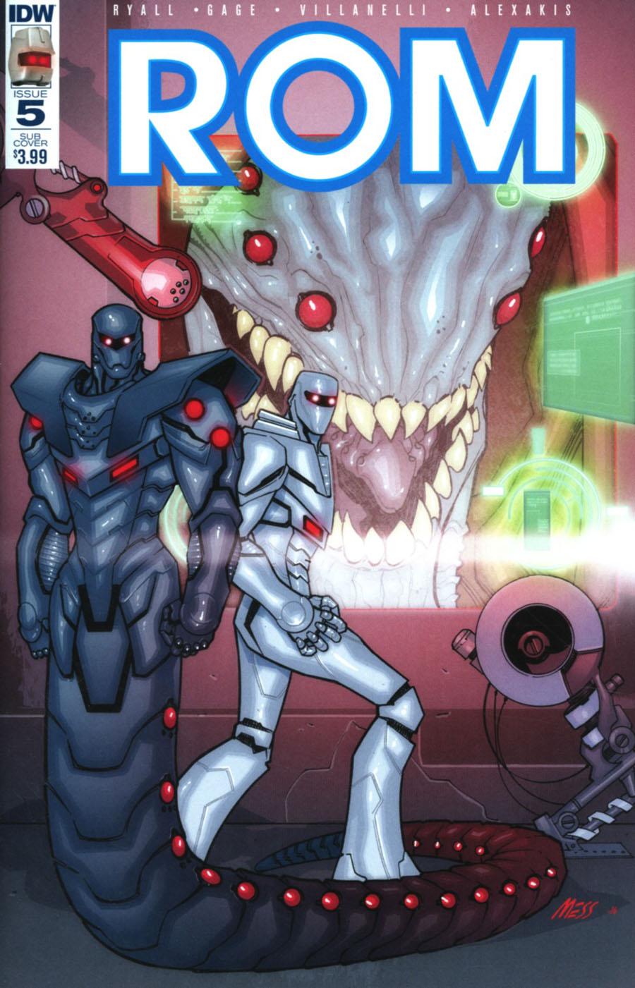 ROM Vol 2 #5 Cover B Variant David Messina Subscription Cover