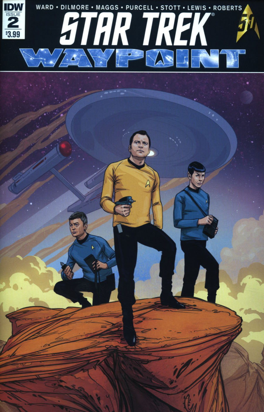Star Trek Waypoint #2 Cover A Regular David Malan Cover