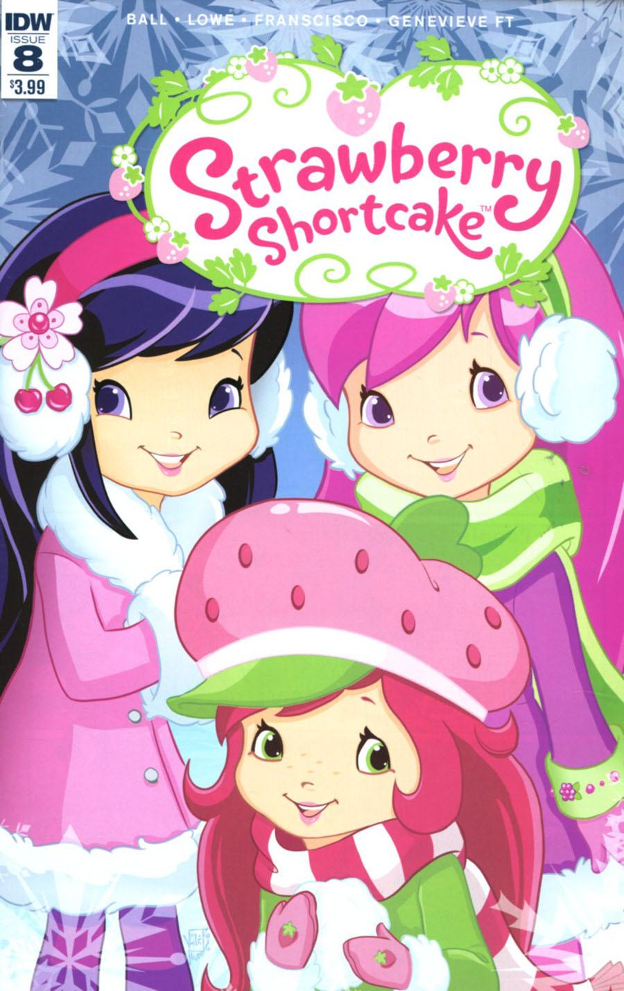 Strawberry Shortcake Vol 3 #8 Cover A Regular Valentina Pinto Cover