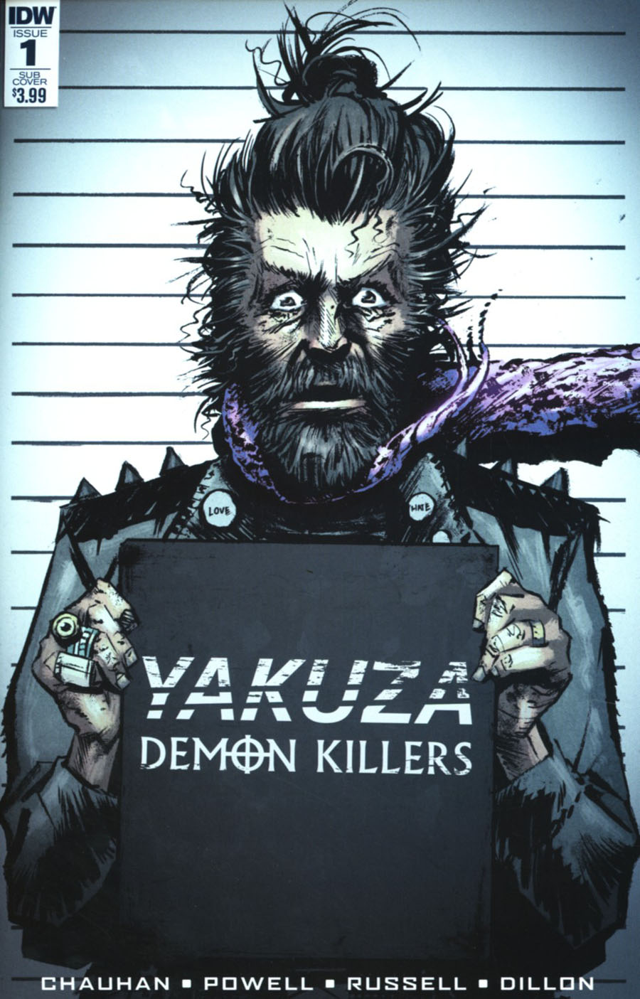 Yakuza Demon Killers #1 Cover B Variant Eli Powell Subscription Cover