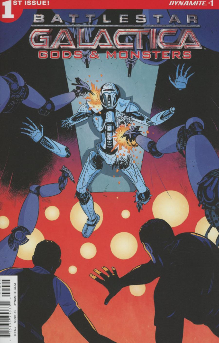 Battlestar Galactica Gods & Monsters #1 Cover A Regular Alec Morgan Cover