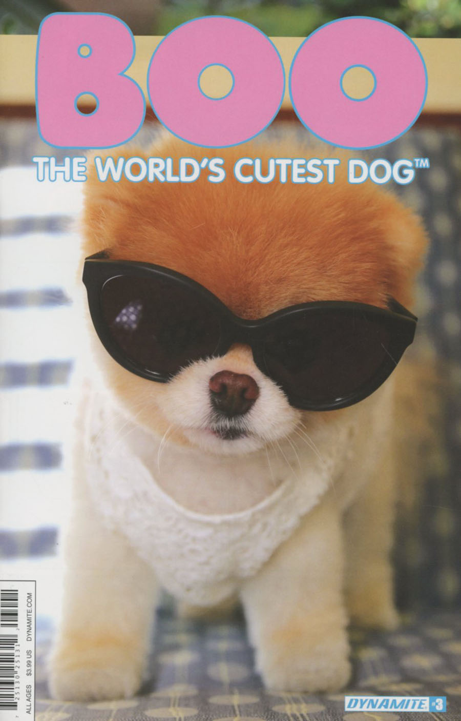 Boo Worlds Cutest Dog #3 Cover D Variant Photo Subscription Cover