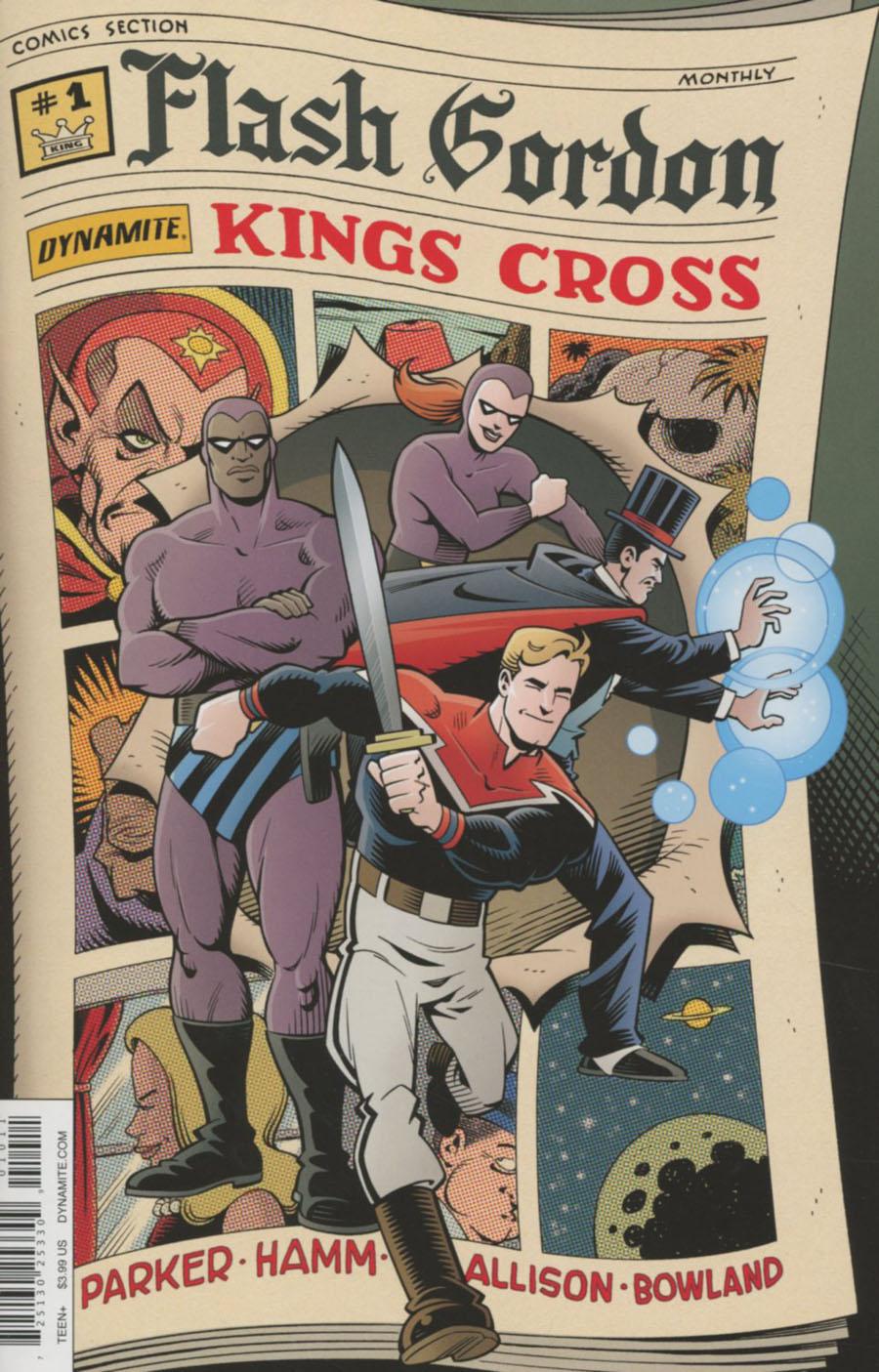 Flash Gordon Kings Cross #1 Cover A Regular Roger Langridge Cover