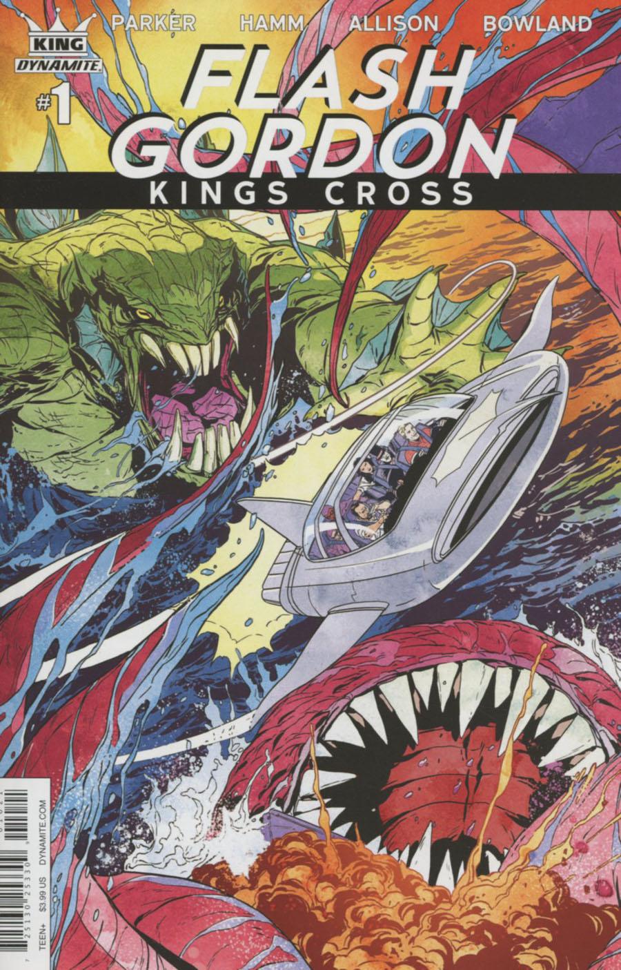 Flash Gordon Kings Cross #1 Cover B Variant Marc Laming Cover