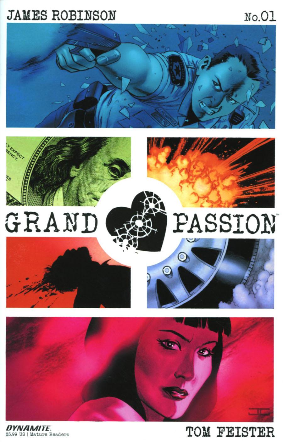 Grand Passion #1 Cover A Regular John Cassaday Cover
