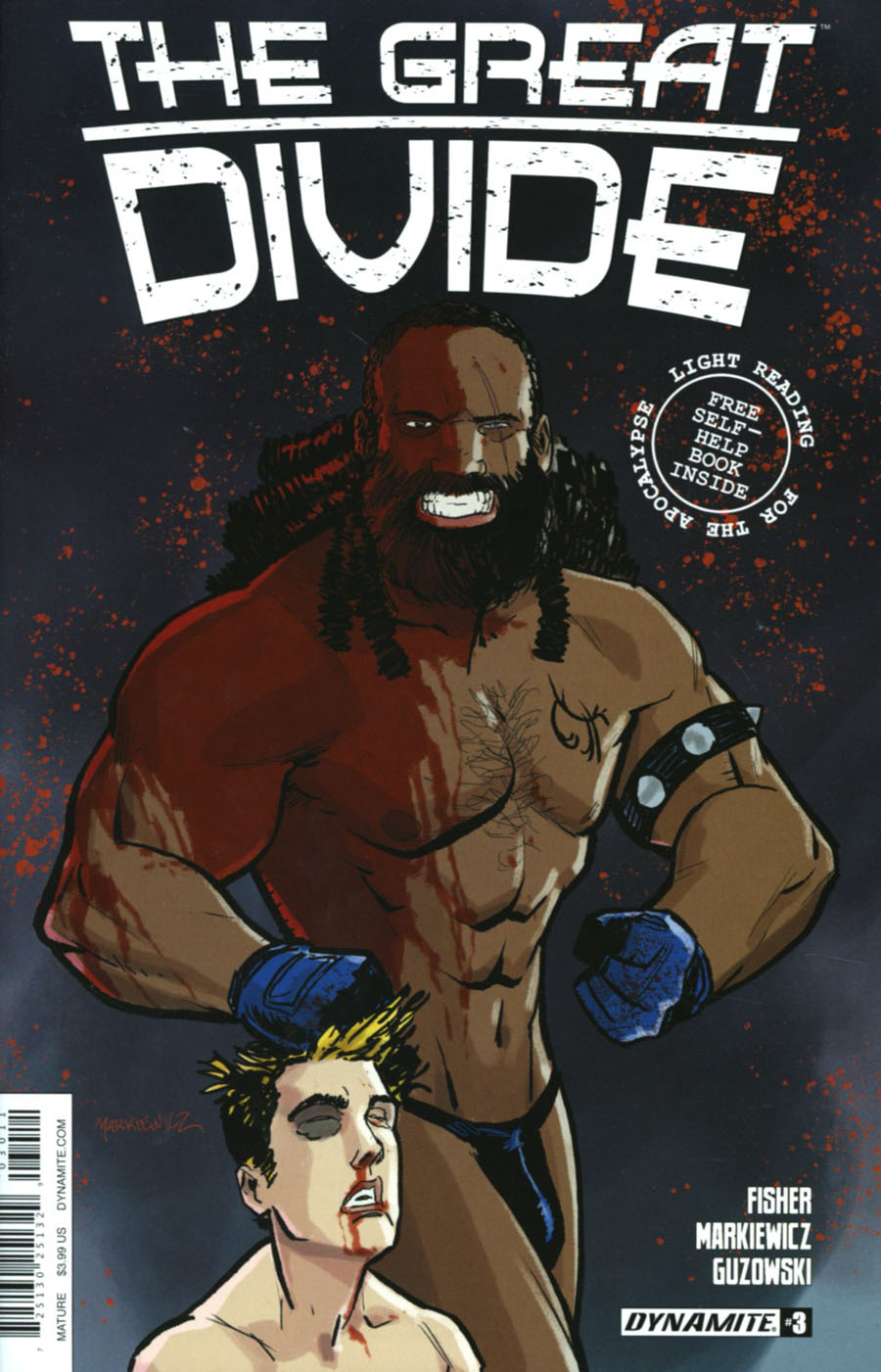 Great Divide #3 Cover A Regular Adam Markiewicz Cover