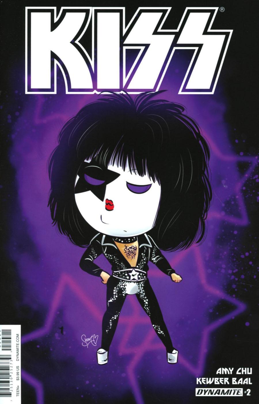 KISS Vol 3 #2 Cover B Variant Shouri Starchild Emoji Cover