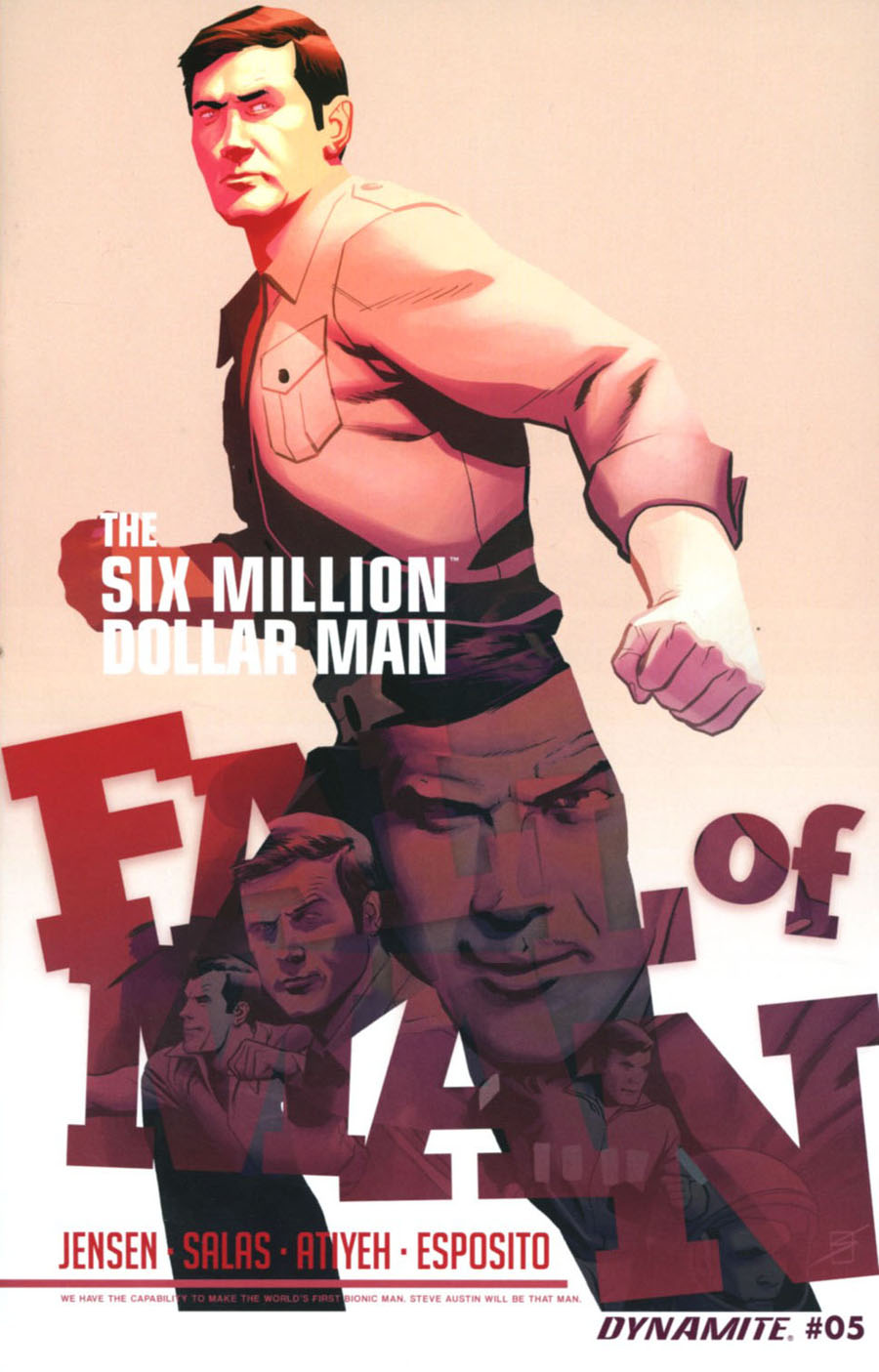 Six Million Dollar Man Fall Of Man #5