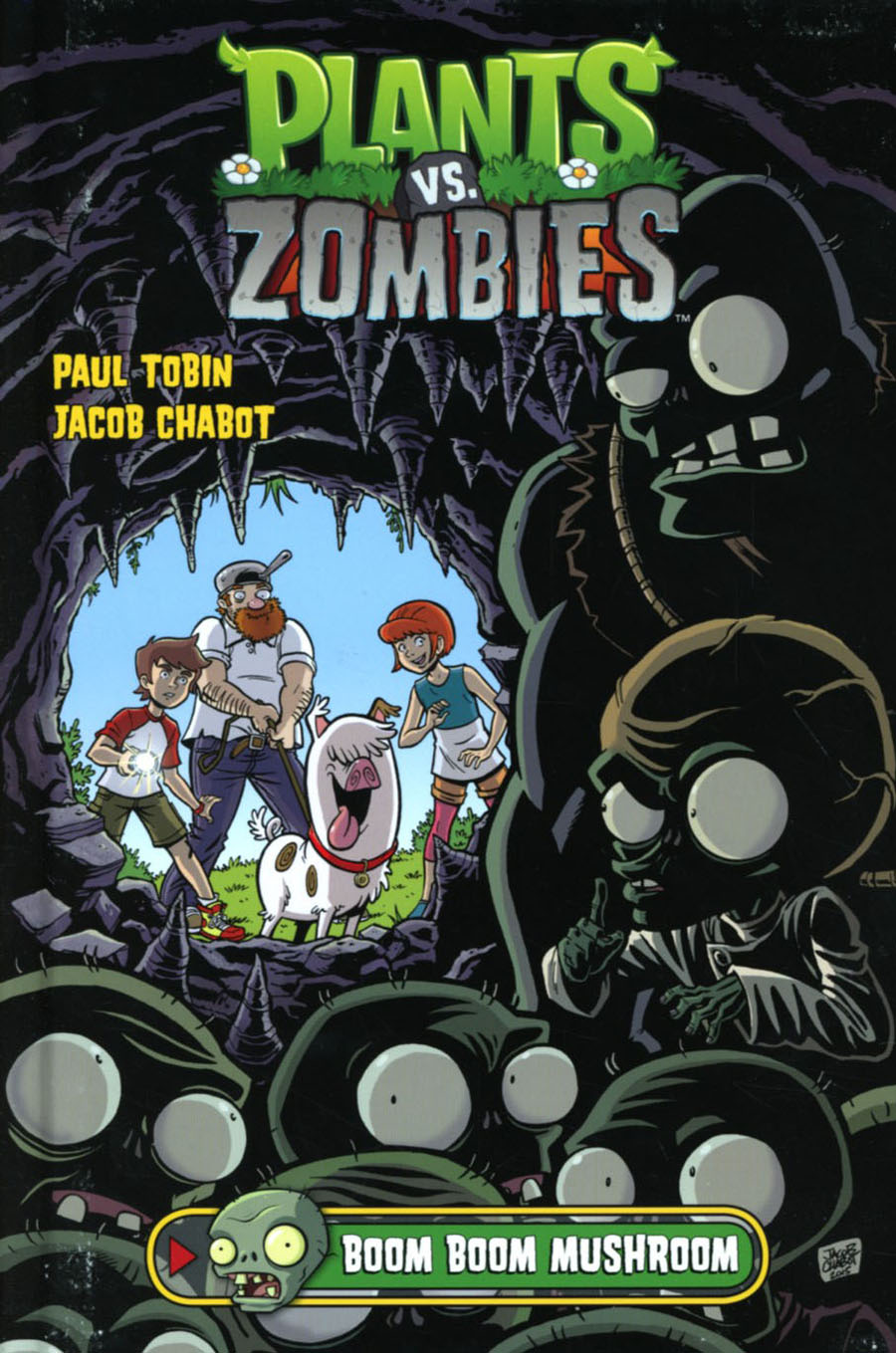 Plants vs Zombies Vol 6 Boom Boom Mushroom HC