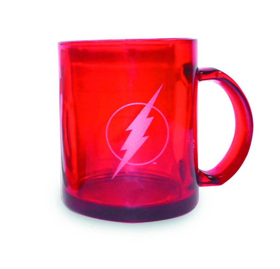 DC Heroes Translucent Mug - Flash Red