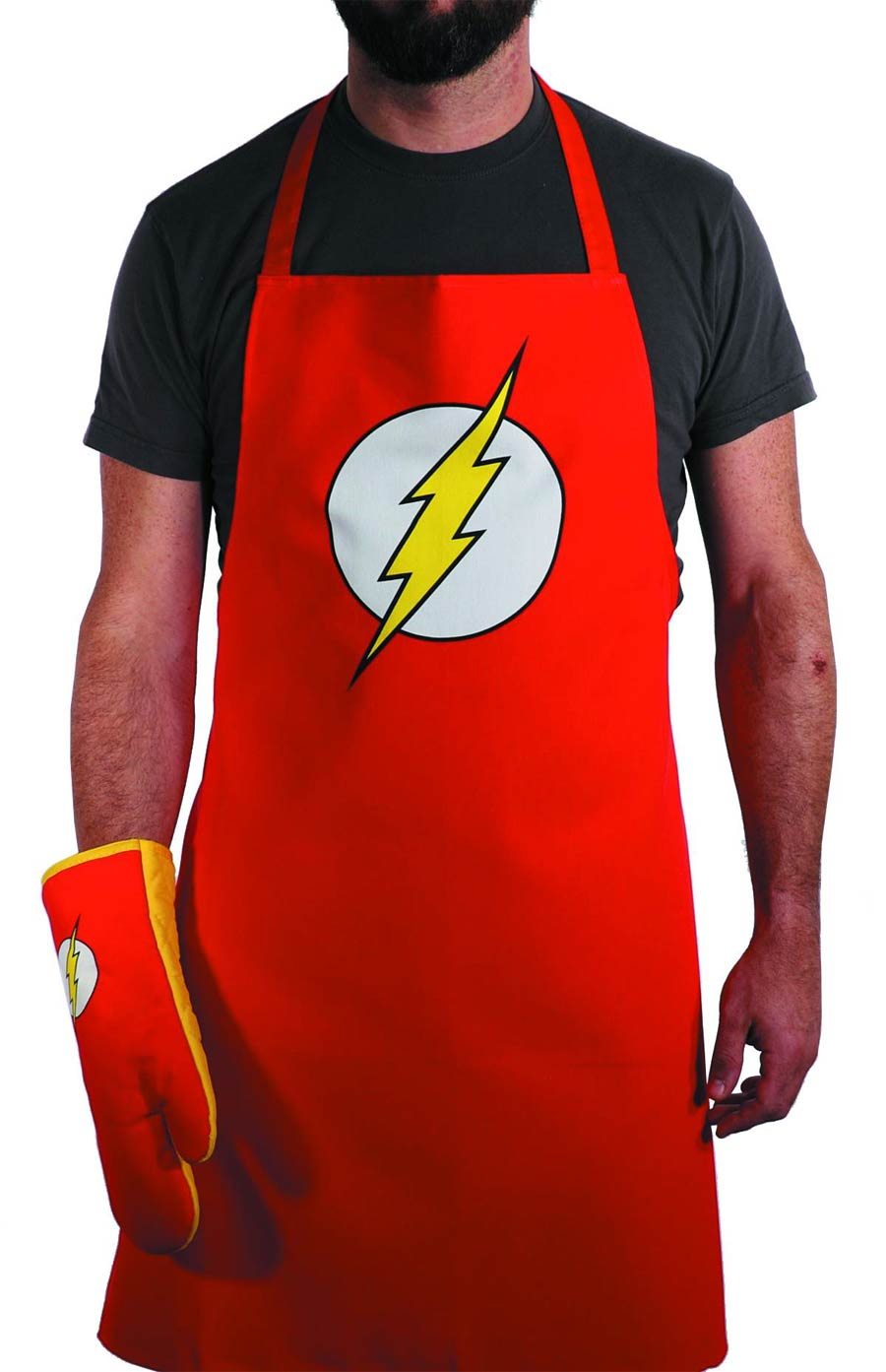 DC Heroes Apron & Glove Set - Flash