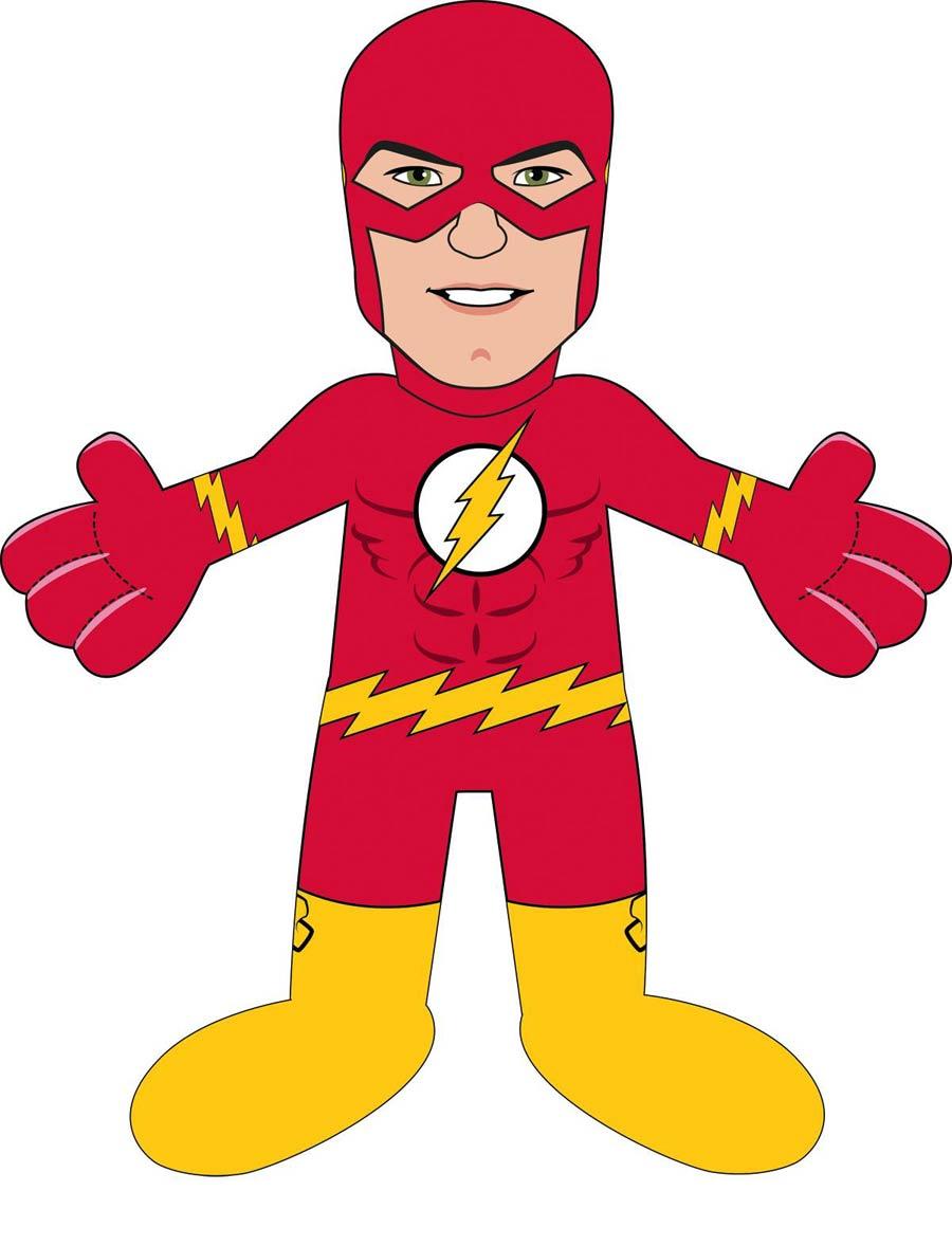 DC Heroes 10-Inch Plush Figure - New 52 Flash