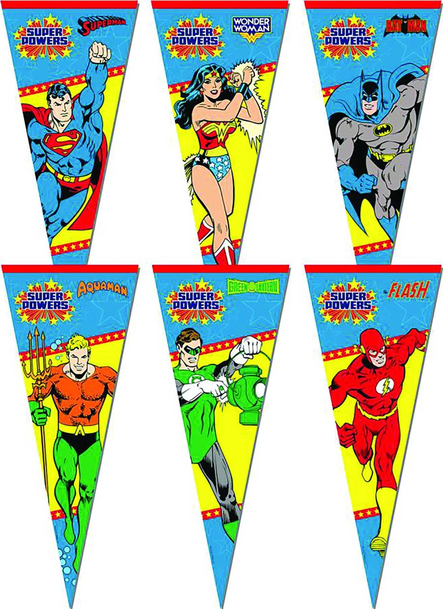DC Super Powers Pennants Series 1 - Flash
