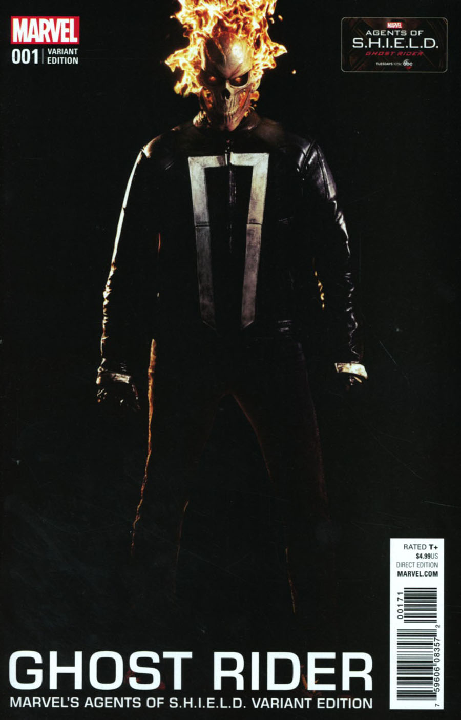 Ghost Rider Vol 7 #1 Cover F Variant TV Photo Cover (Marvel Now Tie-In)