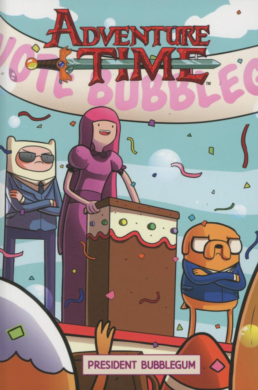 Adventure Time Original Graphic Novel Vol 8 President Bubblegum TP