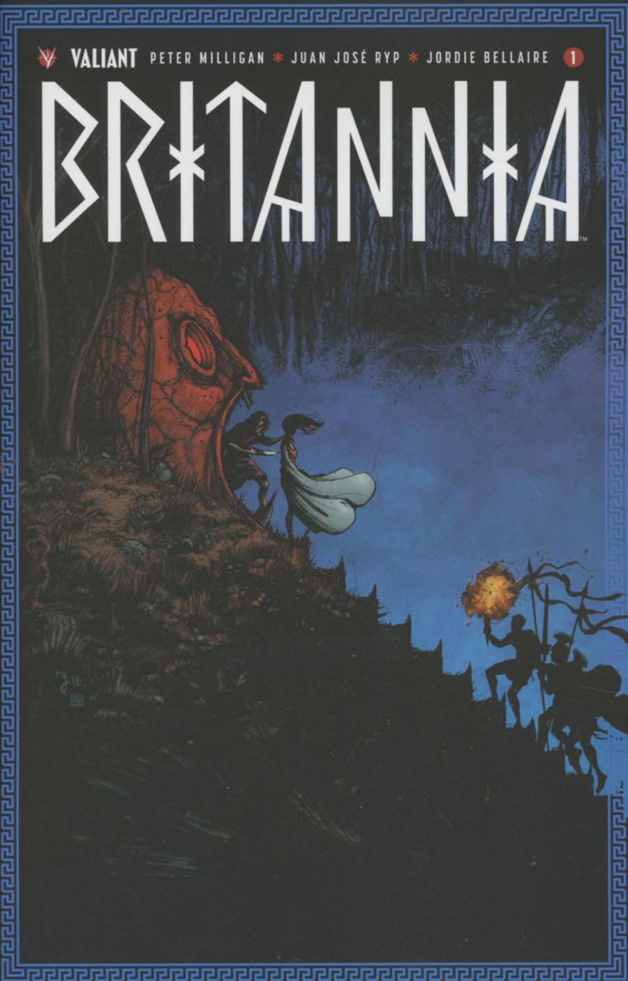 Britannia #1 Cover E Incentive Ryan Lee Variant Cover