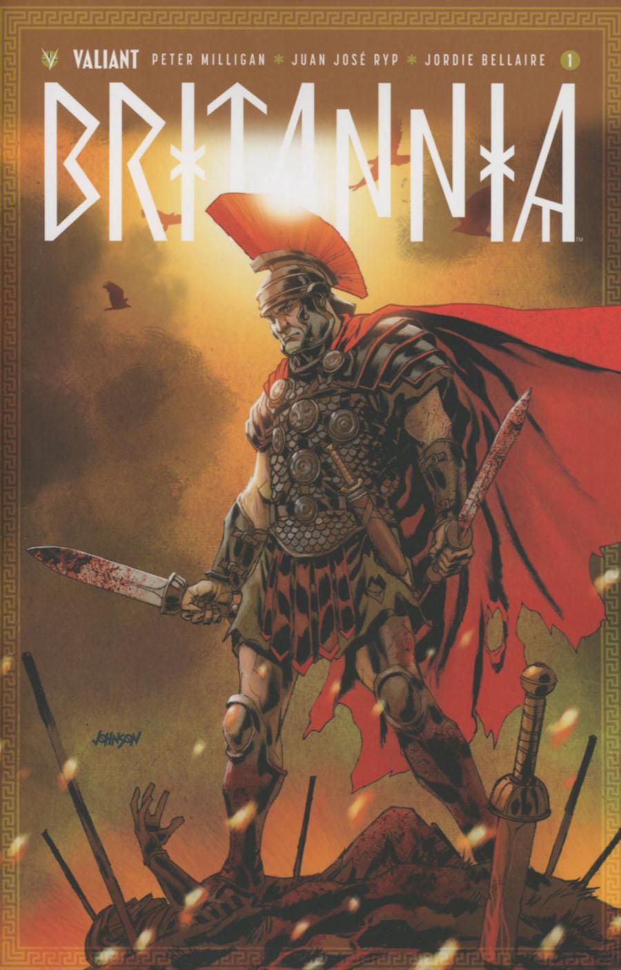 Britannia #1 Cover F Incentive Dave Johnson Variant Cover