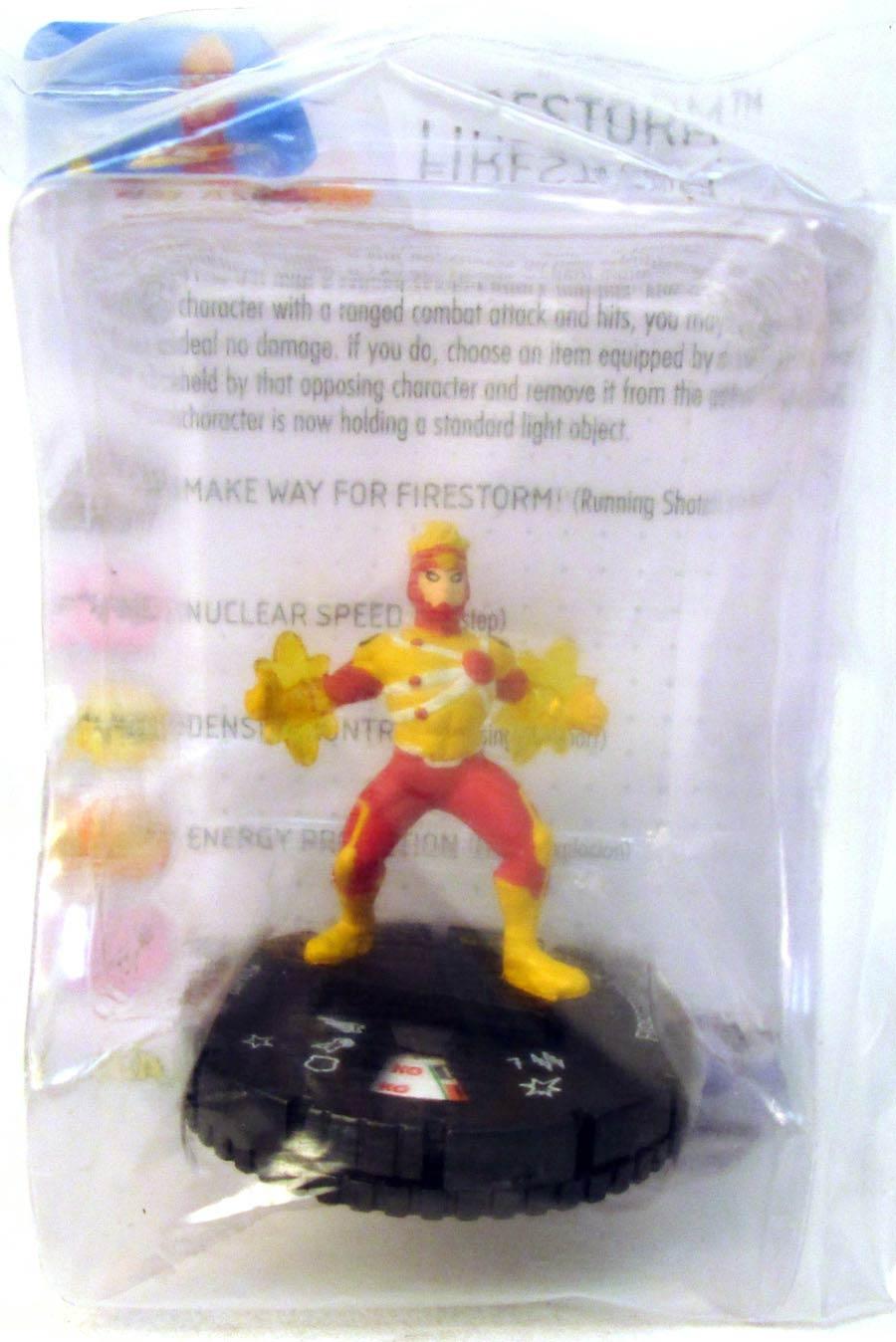 DC HeroClix Justice League 2016 Firestorm D16-012 Mini Figure With Card